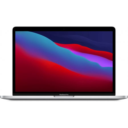 MacBook Pro 13″ (M1, 2020) 8 ГБ, 512 ГБ SSD, Touch Bar, Silver (MYDC2)