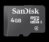 SanDisk® microSDHC™ 4 Gb