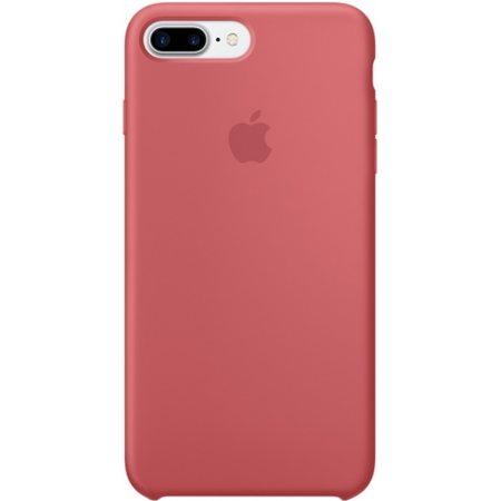 Силиконовый чехол для iPhone7/8Plus, цвет «розовая камелия»