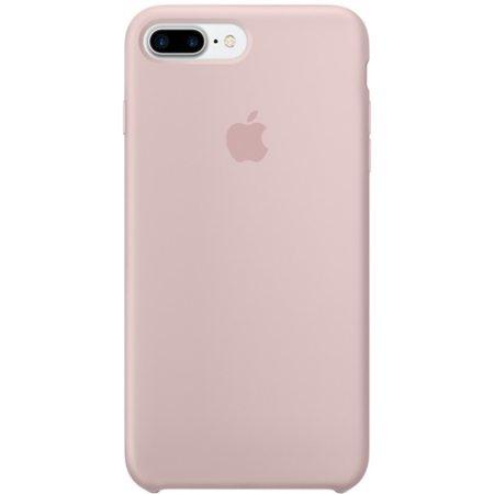 Силиконовый чехол для iPhone7/8Plus, цвет «розовый песок»