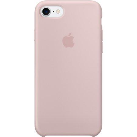 Силиконовый чехол для iPhone7/8, цвет«розовыйпесок»