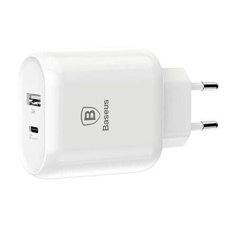 Сетевое зарядное устройство Baseus Bojure Series Dual USB Quick Cahrger 23W (CCALL-AG02)