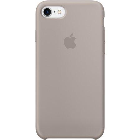 Силиконовый чехол для iPhone7/8, цвет «морская галька»