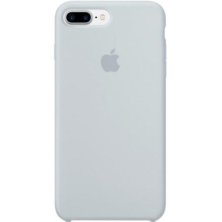 Силиконовый чехол дляiPhone7/8Plus, дымчато-голубой цвет