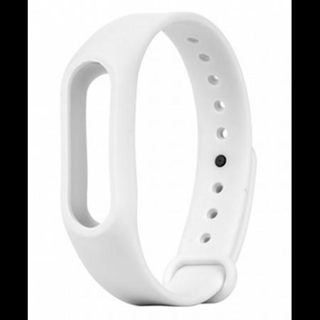 Ремешок для фитнес браслета Xiaomi Mi Band 2 White