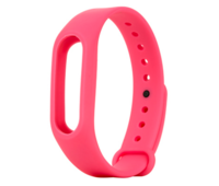 Ремешок для фитнес браслета Xiaomi Mi Band 2 Pink