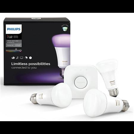 Умные лампы Philips Hue White and Color Ambiance Е27 Starter Kit 3rd Gen