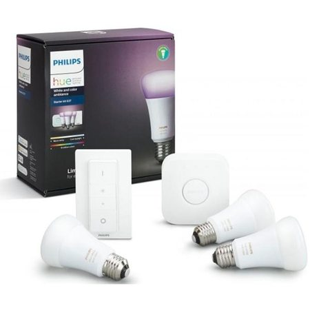 Комплект Philips Hue White And Color Ambiance Starter Kit E27