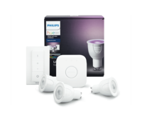 Умные лампы Philips Hue White and Color Ambiance GU10 Starter Kit