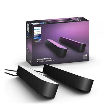 Комплект умных светодиодных ламп Philips Hue Play 2 шт (Black)