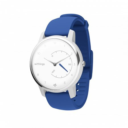 Умные часы с ЭКГ Withings Move ECG (Blue)