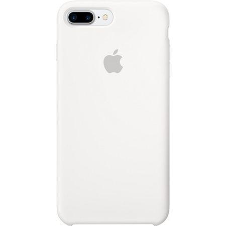 Силиконовый чехол для iPhone7/8Plus, белыйцвет