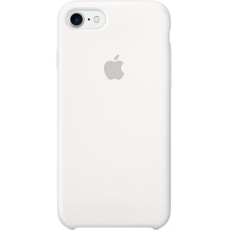 Силиконовый чехол для iPhone7/8, белыйцвет