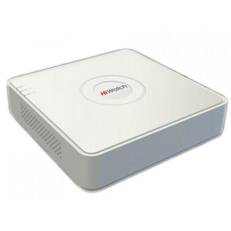 4-канальный гибридный HD-TVI регистратор HiWatch DS-H104U(B)