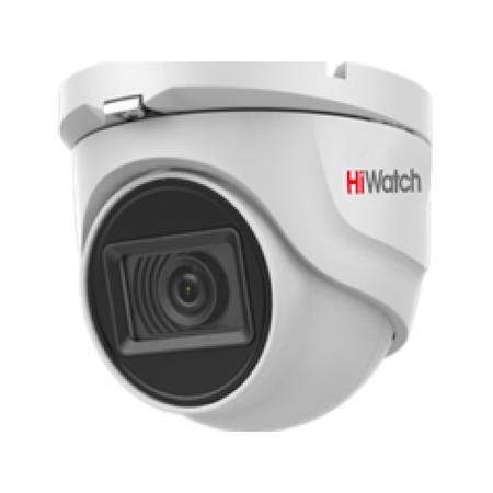 Купольная HD-TVI камера HiWatch DS-T803 (2.8 mm)