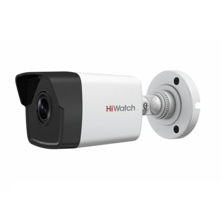 Уличная цилиндрическая IP-Видеокамера HiWatch DS-I100(B) 6 мм