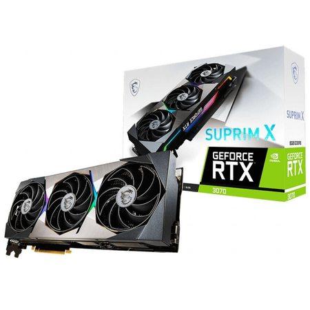 Видеокарта MSI GeForce RTX 3070 SUPRIM X 8GB, Retail